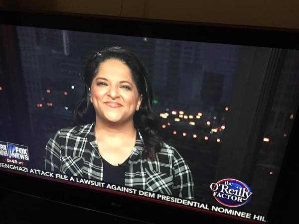 Amy on the O'Reilly Factor